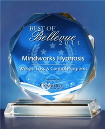 Mindworks Hypnosis wins Best of Bellevue Weight Loss Program 2011