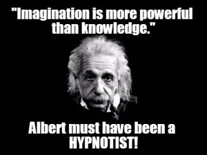 Albert Einstein had the mind of a hypnotist.