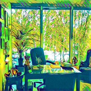 Mindworks Hypnosis & NLP Bellevue Office space photograph.