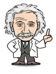 Albert Einstein has the same mindset as a hypnotist.