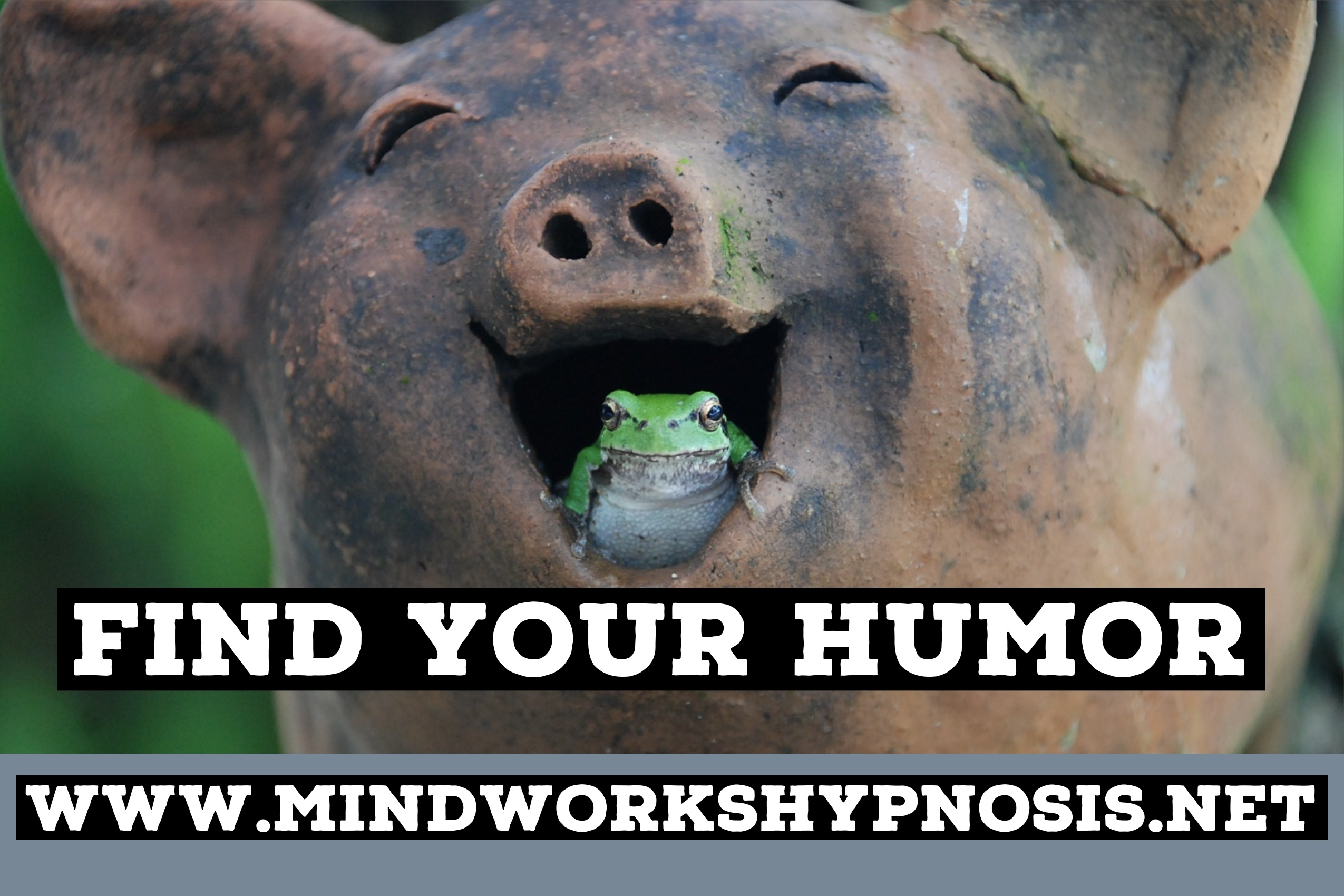 Find Your humor with Greater Seattle hypnotherapy clinic Mindworks Hypnosis & NLP.