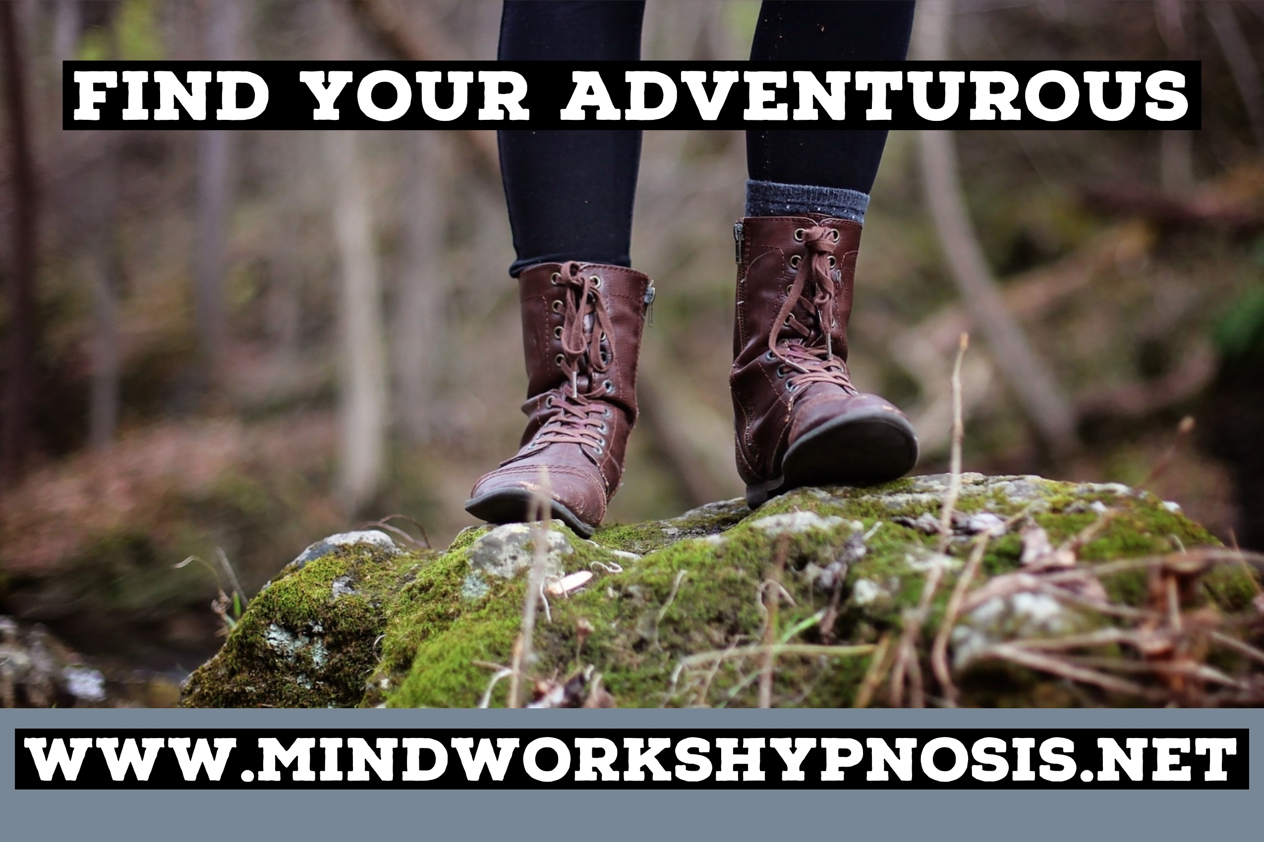 Find your adventurous self with Mindworks Hypnosis & NLP.