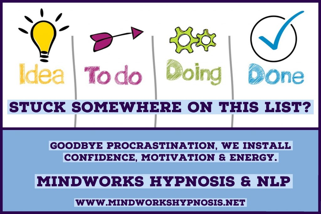 Goodbye to Procrastination with Mindworks Hypnosis & NLP